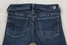 American Eagle Jeggings Size 2 Dark Wash Stretch Jeggings Inseam 31