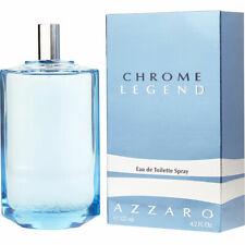 Chrome Legend by Azzaro for Men Eau de Toilette 4.2oz/125ml New Box Company pac