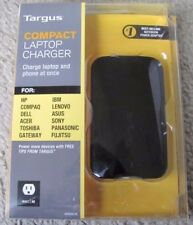Brand NEW Targus Compact Laptop and Phone at Once Charger APA69US