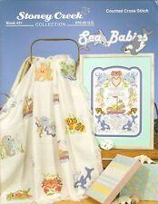 Sea Babies BK431 by Stoney Creek cross stitch pattern