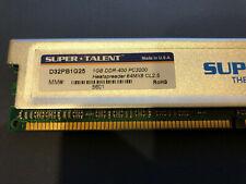 Super Talent D333//1GSAM DDR333 1GB 64X8 Samsung RAM Chip