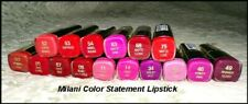 New MILANI Color Statement Lipstick  Vibrant Colors  You Choose