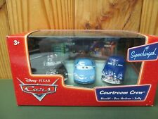 New NRFB Pixar Cars Toy – Courtroom Crew Sheriff, Doc, Sally