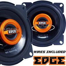 "Edge EDST214-E6 4"" inch 100mm 10cm 160w 2-Way Car Door Dash Coaxial Speakers Set"