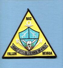 "NAS NAVAL AIR STATION FALLON NV US Navy Base Squadron Jacket Patch 4.5"""