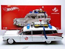 1:18 Hot Wheels Heritage Modelo de Película Ghostbusters ECTO-1 Cadillac