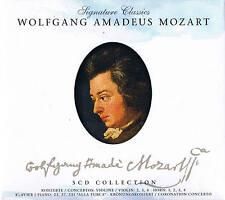 Signature Classics Wolfgang Amadeus Mozart 5 CD Box ZYX Nusic 2008