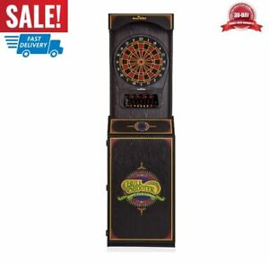 Standing Electronic Dart Game with 24 Games Dartboard Arcade Style Family Gift