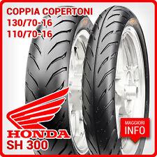COPPIA COPERTONI PNEUMATICI GOMME CST PER HONDA SH 300 130/70-16 110/70-16