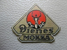 LOGO DECALCOMANIE MOULIN A CAFE Pe-De DIENES MOKKA - Coffee grinder -