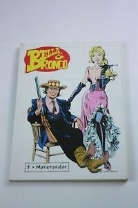 BELLA & BRONCO #1 Turkish Comic Book 2000s VERY RARE Sergio Bonelli FIRST ISSUE