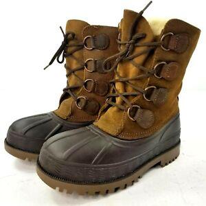Lacrosse Womens Winter Breaker Boots Sz 4 Waterproof Leather Insulated Snow Boot