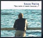 LUCIO DALLA QUI DOVE IL MARE LUCCICA DE GREGORI MORANDI MINA GUCCINI 3 CD SIGIL