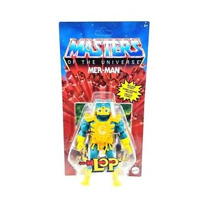 Masters of the Universe Origins Mer-Man Action Figure MINT UNPUNCHED COLLECTIBLE