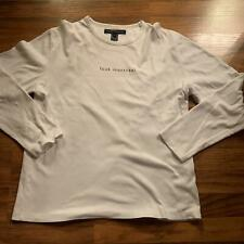 French Connection Xl Fcuk Montreal White Long Sleeve T Shirt