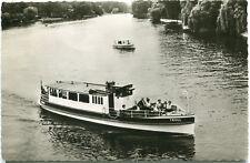 Foto-AK BERLIN Dampfer MS TROLL Kleiner Wannsee STERN UND KREIS Steglitz 50er