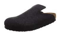 Birkenstock DAVOS Wool Felt Anthracite Gray 1011221 NARROW EU 37 38 39 41