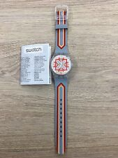"OROLOGIO SWATCH PUZZLE MOTION ""MOVING FLOWER'"" REF. SUPK100 -NUOVO"