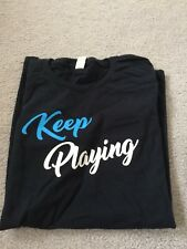Keep Playing Logitech Gaming T-Shirt: Size S  - PAX West 2018 - USA SHIP