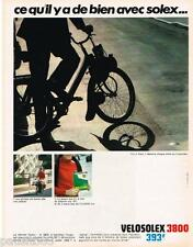 PUBLICITE ADVERTISING 105  1968  VELOSOLEX 3800  cyclomoteur SOLEXINE