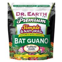 DR. EARTH PREMIUM BAT GUANO 7-3-1, 1.5LB