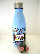 "Brighton ""SCRIBBLE GARDEN"" Stainless Steel Water Bottle (MSR$25) NWT"