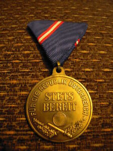 Austrian  Military Service Medal