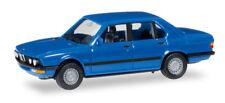 Herpa 028653 BMW 528 i (E28), light blue 1:87 modellismo
