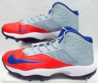 NIKE Zoom Code Elite 3/4 Shark Cleats Men's Shoes $105 618140-021 Sz 17 M**New**
