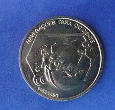 PORTUGAL 200 Escudos Gedenkmünzen 1991 KM#659  WESTWARD NAVEGATION