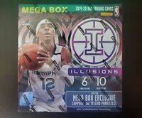 2019-2020 Panini Illusions Basketball Mega Box 🔥🏀  Zion/Ja Morant Auto? 🏀
