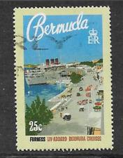 BERMUDA POSTAGE STAMP - USED COMMEMORATIVE - 75 YEARS CRUISE LINES - 1994