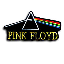 Pink Floyd Dark Side of The Moon Patch Iron on Rock Biker Metal Band Music Cap