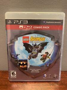 Sealed Lego Batman Videogame (Playstation 3, 2008) W/ Batman Movie Combo PS3
