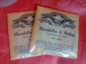 Box of Gretsch mandolin strings
