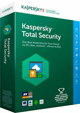 KASPERSKY TOTAL SECURITY  ANITIVIRUS 2020 1 PC DEVICE 1 YEAR PROTECTION