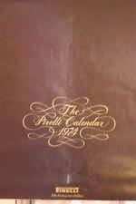 Vintage 1974 Pirelli Calendar, 10th Anniversary Edition