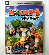 WORMS 4 MAYHEM jeu PC (DVD-ROM) Francais / French version. PC game.