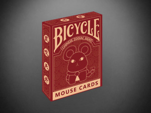 1 DECK Bicycle Mouse playing cards USA SELLER!
