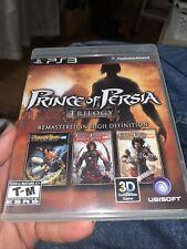 Prince of Persia Classic Trilogy HD PS3 2011 Complete VGC -bonus DVD Disc