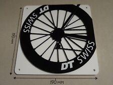 DT Swiss Cycling Wheel, DT Swiss rear wheel design - Acrylic Sign: 190x190mm
