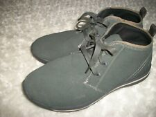 Mens Skechers Chukka Boots Charcoal Suede Leather Size 10