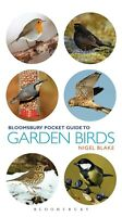 NEW Bloomsbury Pocket Guide to Garden Birds Nigel Blake photographic field guide