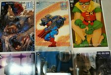 6 book LOT: DK III #7 JIM LEE 1:500 +1:100+1:50+1:25+1:10+Bulletproof Variant NM