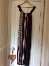 Warehouse Vertical Pattern Maxi Dress - Sz 16
