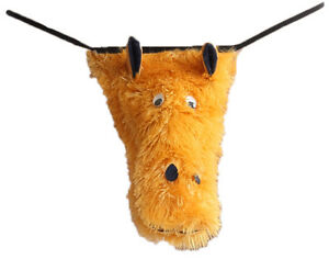 MENS SEXY FUN NOVELTY FURRY HORSE POSING POUCH G-STRING THONG BRIEF ONE SIZE