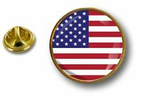pins pin badge pin's metal button drapeau usa americain etats unis