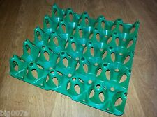 EGG TRAYS for Incubator or storage.  Holds 20 Turkey Duck or Peafowl Eggs.