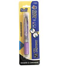 2 In 1 Cushion Grip Retractable 4 Color Ballpoint Pen+ Mechanical Pencil