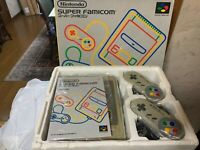 Nintendo Super Famicom console boxed good condition Japan SFC system tested SNES